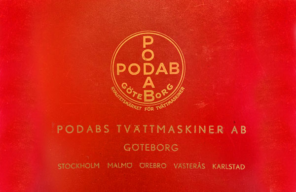 PODABs logo in the 40s
